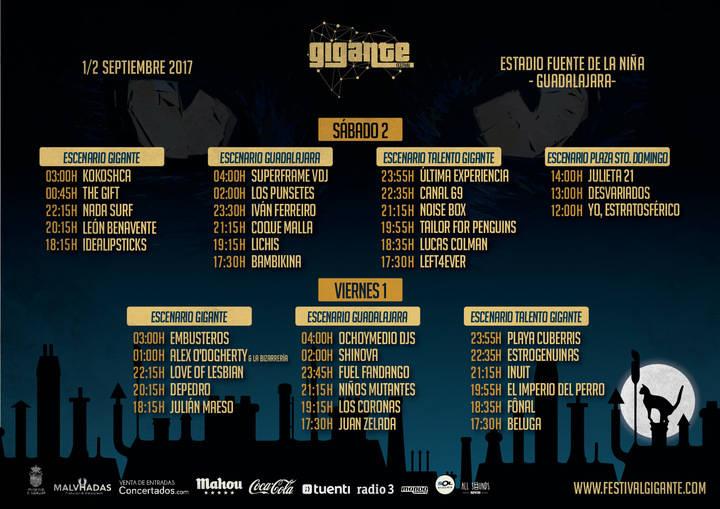 Guadalajara ya respira una nueva edición del Festival Gigante