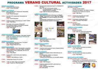 Pistoletazo de salida del intenso programa de actividades del Verano Cultural en Yebra