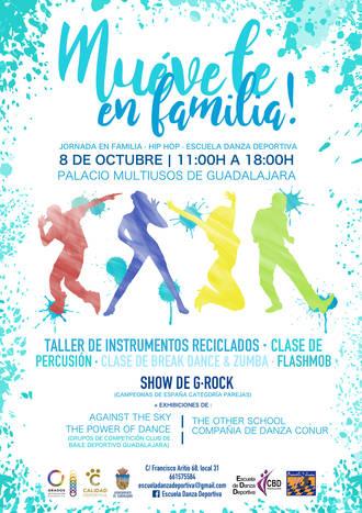 """Este domingo el Multiusos acoge """"Muévete en familia"""", una jornada de bailes, talleres, clases y exhibiciones"""