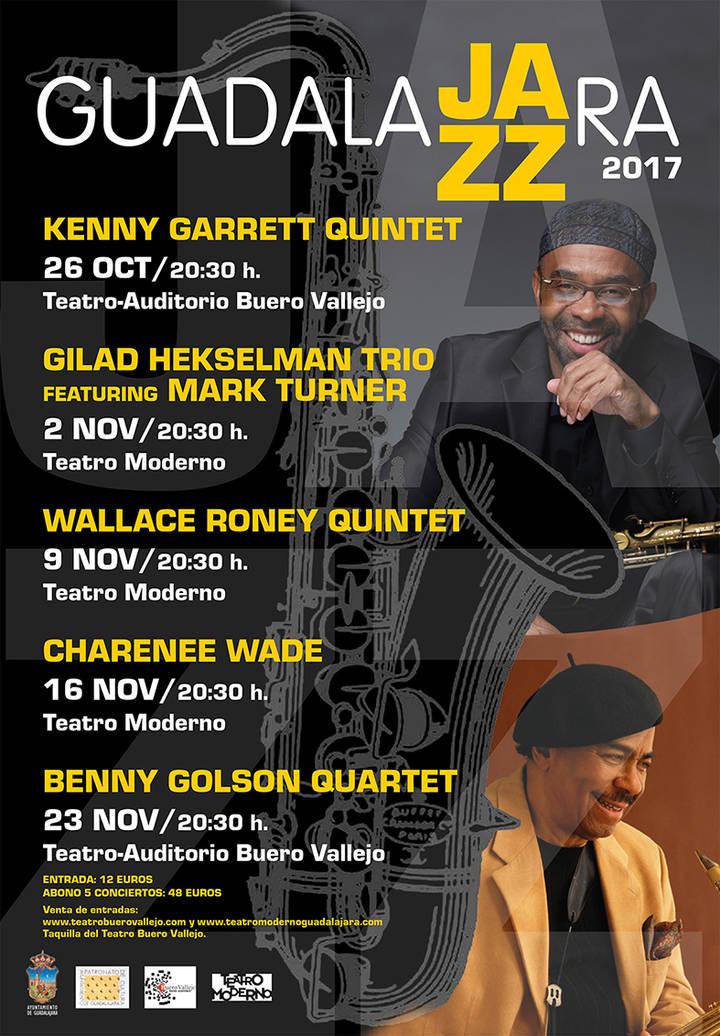 El concierto de Wallace Roney Quintet será el 9 de noviembre y el de Charenee Wade, el 16