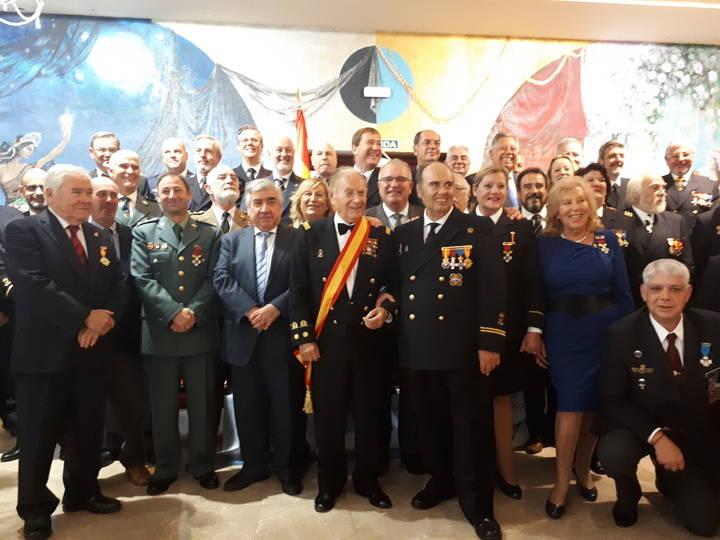 Almuerzo de confraternidad marinera de la Liga Naval de Castilla-La Mancha en El Casino de Guadalajara