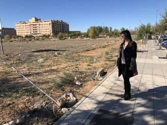 """Silvia García: """"La falta de limpieza de este Equipo de Gobierno no se ve solo en las calles de Azuqueca, también en parcelas particulares"""""""