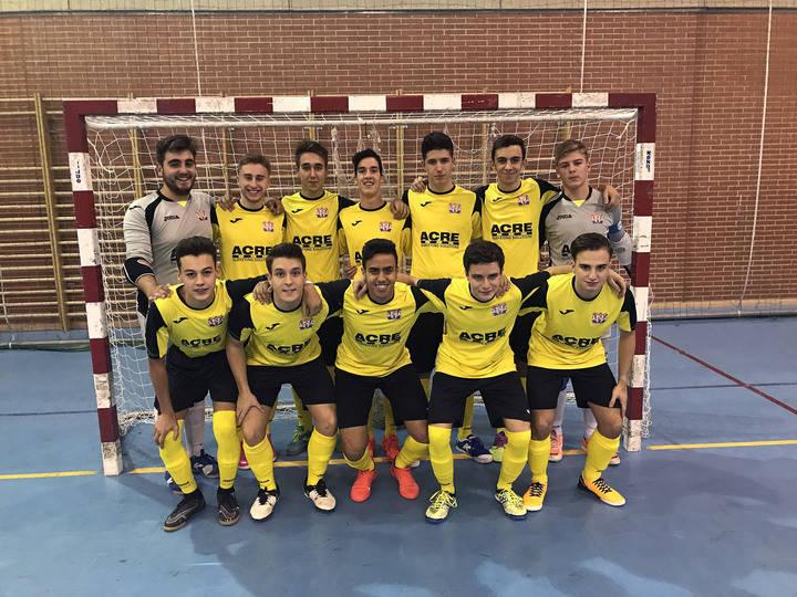 Segunda victoria consecutiva del Atlético Almonacid, esta vez a domicilio, ante Leganés FS