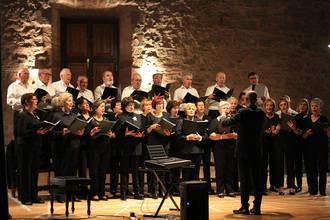 Un emotivo concierto del Coro Amigos de Vitoria cierra la temporada cultural de la AAISS en 2017