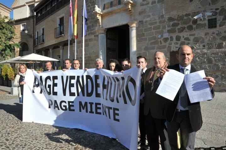 """Alcaldes de Castilla-La Mancha denuncian """"trato discriminatorio y sectario de Page con las zonas prioritarias para salvar su sillón"""""""