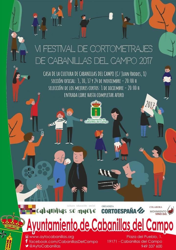 28 películas a concurso en el 6º Festival de Cortos de Cabanillas