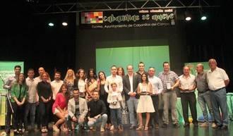 Cabanillas se vuelca en reconocer a los destacados del año en deportes y actividad sociocultural
