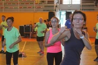 Intenso Maratón de Fitness en Cabanillas del Campo