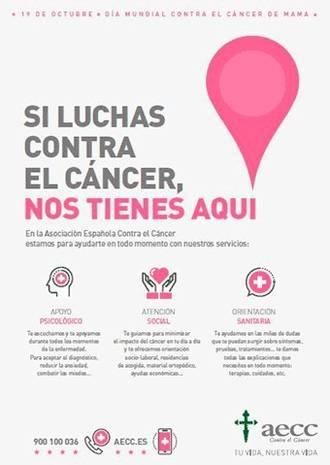La AECC organiza en Guadalajara su III Marcha contra el Cáncer de Mama