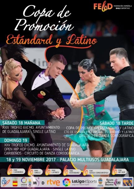 Copa de Baile Deportivo en el Palacio Multiusos de Guadalajara