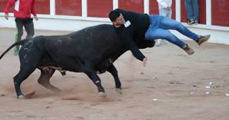 Un herido en el cuarto y último Encierro de las Ferias de Guadalajara y 13 quemados leves en los Toros de Fuego