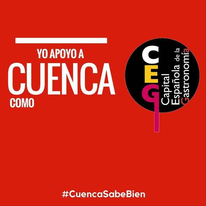La candidatura de Cuenca a Capital Española de la Gastronomía dispara su apoyo popular en las redes sociales