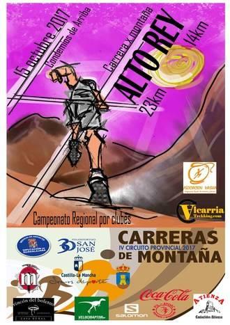 El domingo 15 de octubre, IV Carrera X Montaña Alto Rey