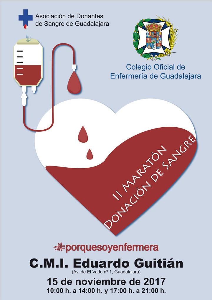 El Colegio de Enfermería organiza su II Maratón de Donación de Sangre