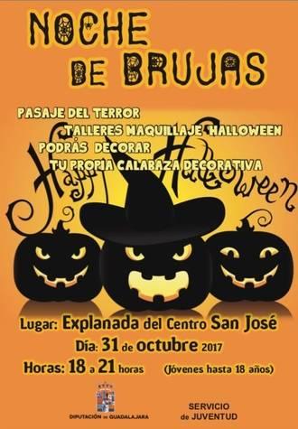 """La Diputación organiza una """"Noche de Brujas"""" el próximo 31 de octubre"""