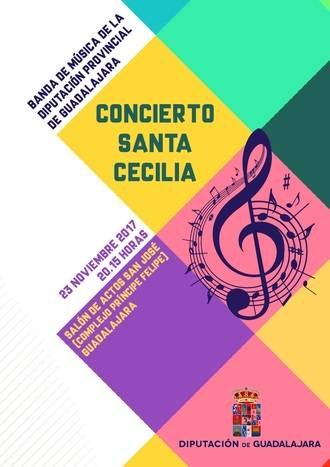 La Banda de la Diputación de Guadalajara ofrecerá un Concierto de Santa Cecilia plagado de estrenos