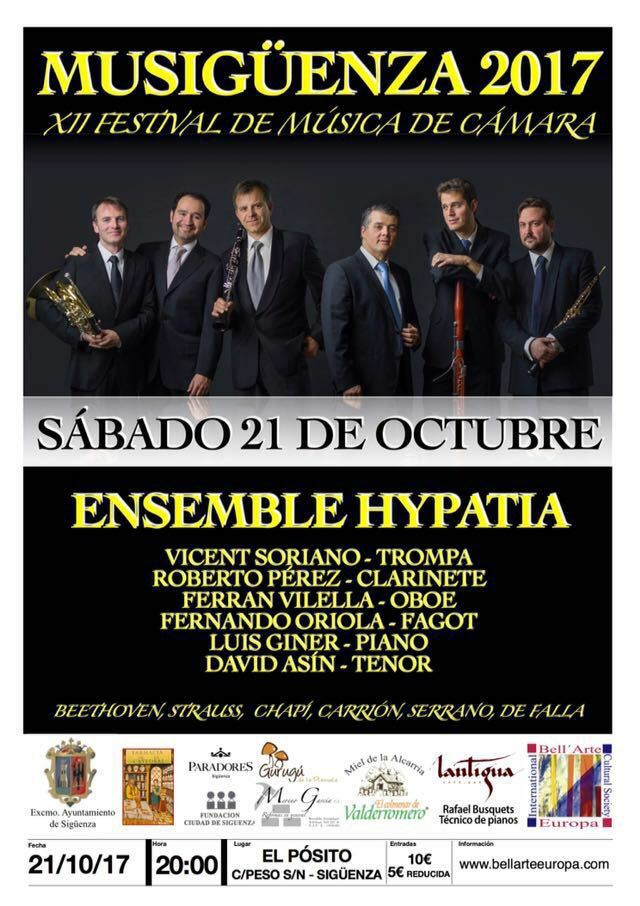 Beethoven y la ópera, esta vez con voces masculinas, protagonizan el Festival Musigüenza 2017