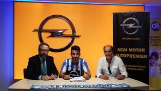 Alejandro Cubas ficha por el Hogar Alcarreño-ACAI Motor