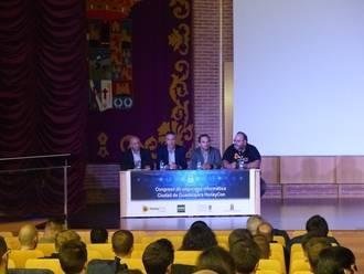 El diputado de Nuevas Tecnologías participa en la presentación del III Congreso de Seguridad Informática