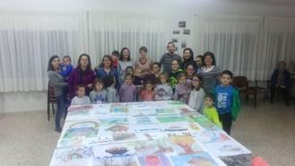 Los vecinos de Málaga del Fresco disfrutaron de un taller de acuarela