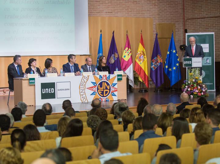 La UNED de Guadalajara celebró su apertura oficial del curso 2017-2018