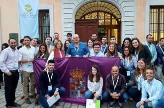 Lucas Castillo, satisfecho por el peso de Guadalajara en el nuevo organigrama de NNGG Castilla-La Mancha