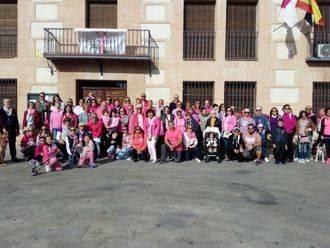 El Casar más solidario se vuelca y 'se viste de rosa' en el Día Internacional del Cáncer de Mama