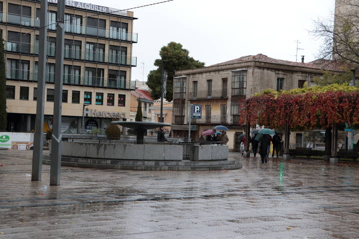 Comieza a cambiar el tiempo este martes en Guadalajara : bajada de temperaturas, cielos nublados y lluvias por la noche
