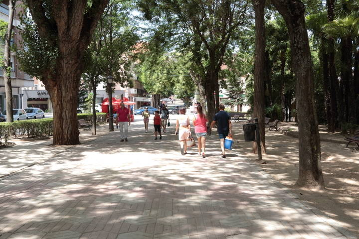 Máximas de 28ºC y mínimas de 10ºC este miércoles en Guadalajara donde brillará el sol durante toda la jornada