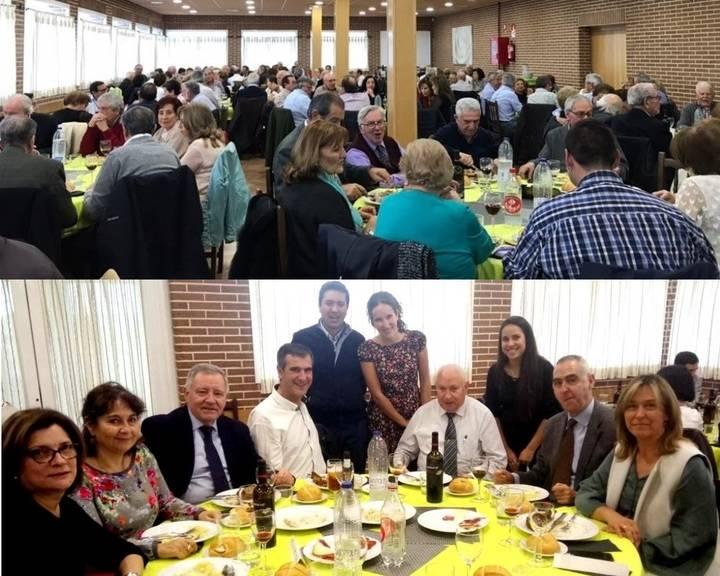 Más de 200 personas en la comida de hermandad de la Asociación de Pensionistas por Enfermedad e Invalidez de Guadalajara