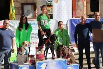 Juan Carlos de Luz y Neo repiten triunfo en la segunda prueba del canicross provincial celebrada en Torija
