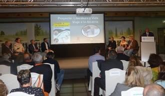 """El proyecto 'Viaje a la Alcarria' de la Diputación recibe el reconocimiento como """"caso de éxito"""" en un Congreso Internacional en Segovia"""