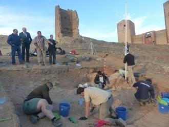 La Diputación participa en un proyecto internacional de excavaciones en el castillo de Molina de Aragón