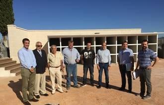 La Diputación lleva a cabo una importante ampliación del cementerio de Mohernando