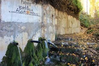 Yebes recupera la fuente de la Ventanilla, que dio de beber a los vecinos durante décadas
