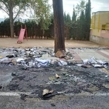 Halloween se salda con una noche de actos vandálicos en Guadalajara