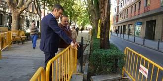 El Ayuntamiento de Guadalajara mejora la seguridad del peatón en Fernández Iparraguirre