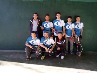 Continúa la competición en el frontenis de Guadalajara