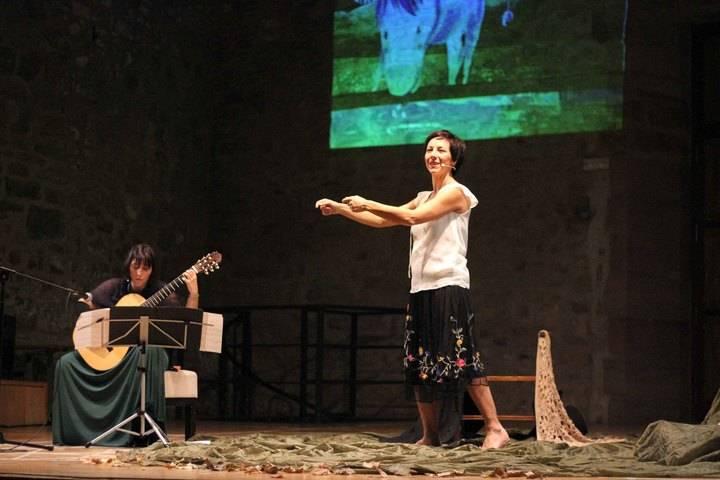 Juan Ramón Jiménez, en la guitarra de Silvia Nogales y la voz de Esther Acevedo, inaugura la III Semana de la Música de Sigüenza