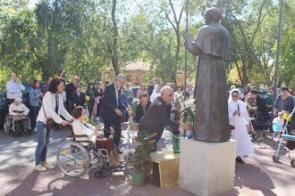 Fiesta en la Residencia de Mayores Juan Pablo II de Alovera