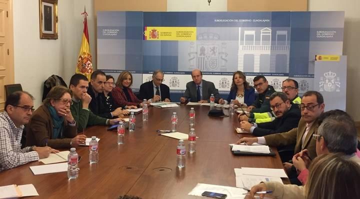 Juan Pablo Sánchez Sánchez-Seco preside la Comisión Provincial de Coordinación sobre Vialidad Invernal 2017-2018