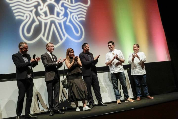 El chef Jorge Maestro, afincado en Sigüenza, también fue protagonista en el Festival de Cine de San Sebastián