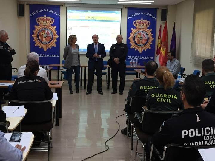 Las Fuerzas de Seguridad del Estado se forman en Guadalajara contra la violencia de género