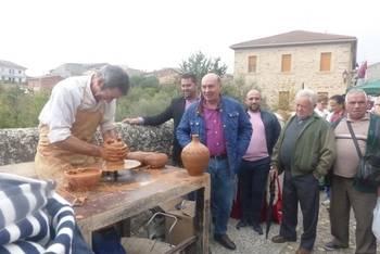El presidente de la Diputación asiste al Día de la Sierra celebrado en La Toba