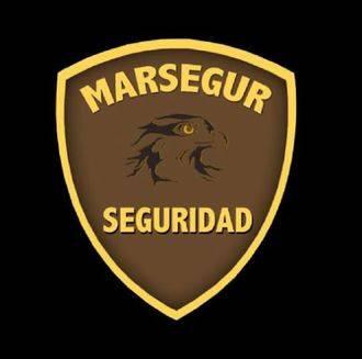 Los trabajadores de seguridad privada en el Ministerio de Defensa en Guadalajara, de la empresa Marsegur, en huelga