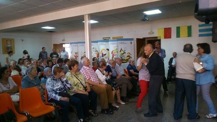 Cáritas Sigüenza-Guadalajara no se olvidó de los mayores en su día