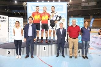 Pepe Moreno, Campeón de España de Kilómetro y plata en velocidad