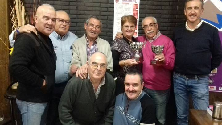 José Jódar y Mariví Leyva ganan el 35º Campeonato Provincial de Mus de Guadalajara