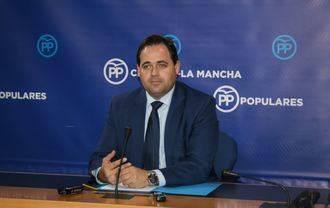 """Núñez denuncia """"la ambigüedad de Page sobre la unidad de España"""" y exige que su Gobierno """"no respalde a los independentistas"""""""