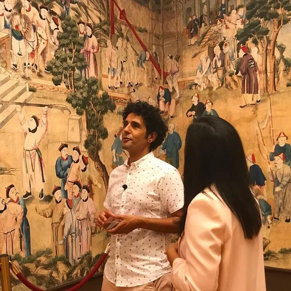 """El Salón Chino de la Cotilla o la Cripta de San Francisco protagonistas del programa """"Un País Mágico"""" de Televisión Española"""